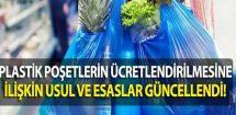 Plastik Poşetlerin Ücretlendirilmesine İlişkin Usul Ve Esaslarda Değişiklik