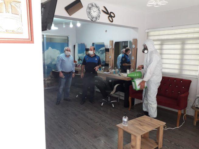 Aliağa'da berber ve kuaförler hizmete hazır!