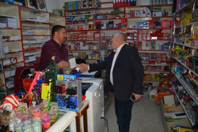 Başkan Serdar Berk:' Kırtasiyeciler ve Kantinciler destek bekliyor'
