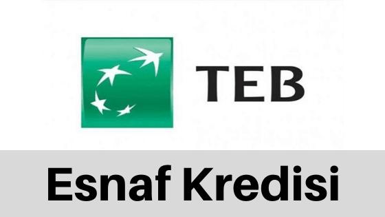 TEB'DEN ESNAFA BAHAR KREDİSİ